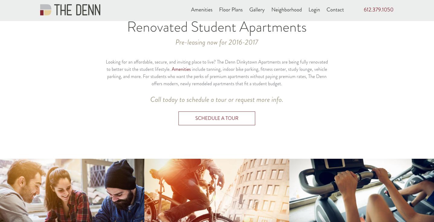 Imagewerks Marketing website design CPM Companies The Denn minneapolis