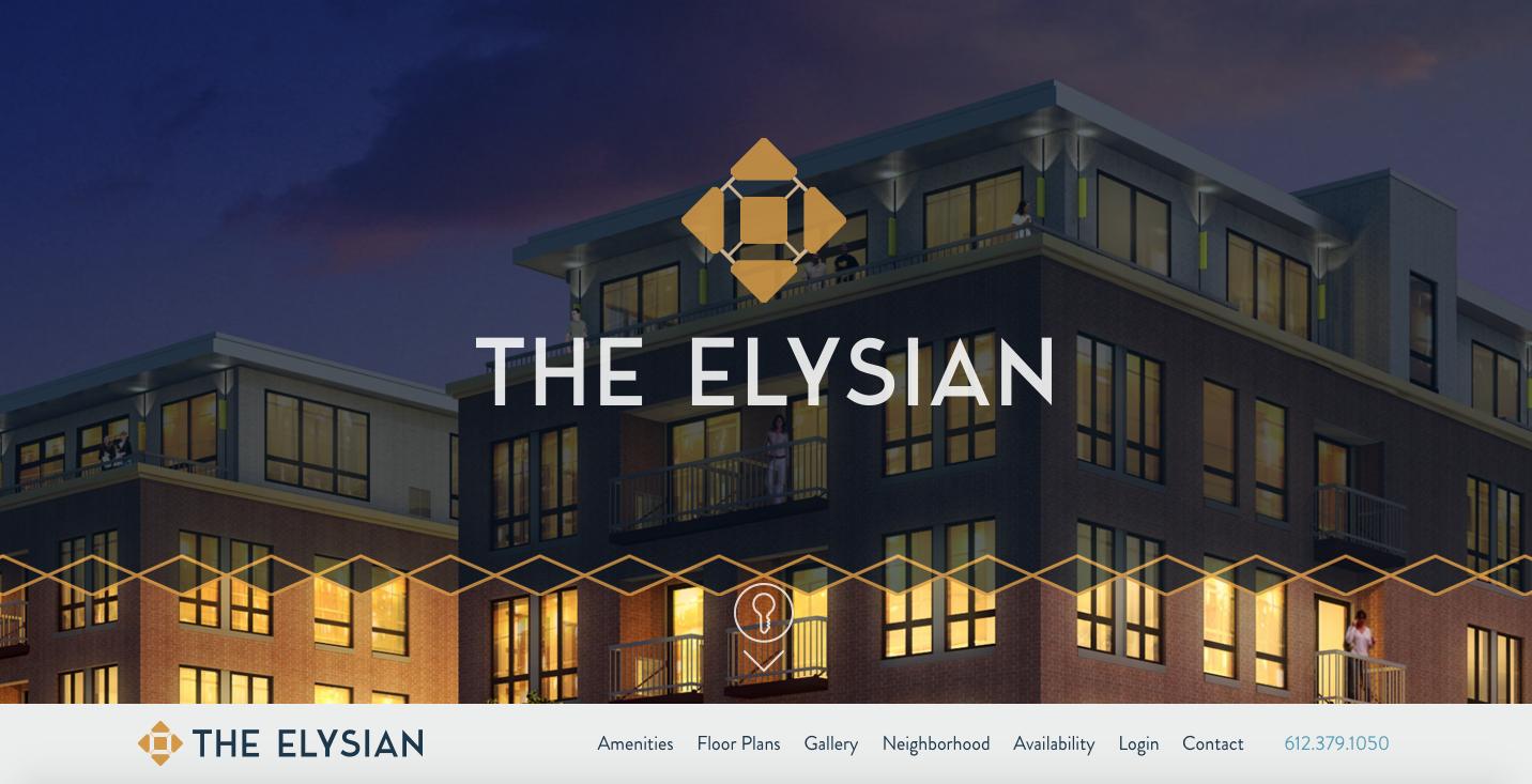 Imagewerks marketing website design minneapolis CPM Companies The Elysian