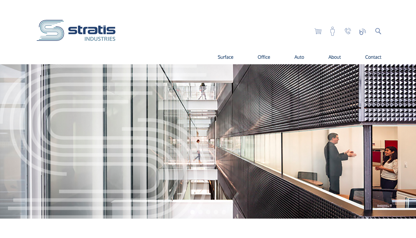 Imagewerks Stratis Industries website design